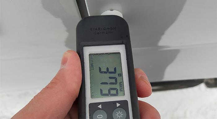 Проверка автомобиля с помощью толщиномера ЛКП Etari